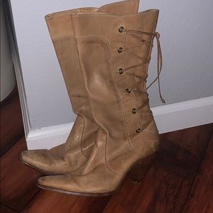 Charlie 1 Horse leather boots (need repair)